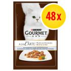 Sparpaket Gourmet A la Carte 48 x 85 g