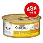 Sparpaket Gourmet Gold Feine Pastete 48 x 85 g