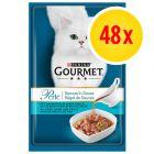 Sparpaket Gourmet Perle Genuss in Sauce 48 x 85 g