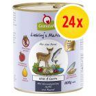 Sparpaket GranataPet Liebling's Mahlzeit 24 x 800 g