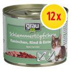 Sparpaket grau Schlemmertöpfchen Adult 12 x 200 g