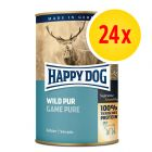 Sparpaket Happy Dog Pur 24 x 400 g