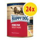 Sparpaket Happy Dog Pur 24 x 800 g