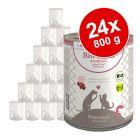Sparpaket Herrmann´s Bio Reinfleisch 24 x 800 g