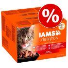 Sparpaket IAMS Delights 48 x 85 g