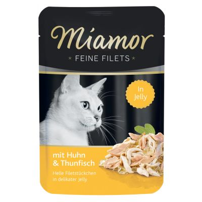 Sparpaket Miamor Feine Filets in Jelly Pouch 24 x 100 g