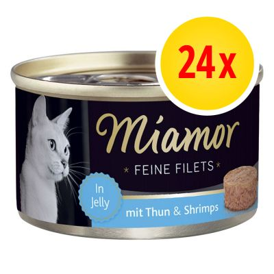 Sparpaket Miamor Feine Filets in Jelly 24 x 100 g