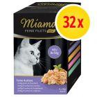 Sparpaket Miamor Feine Filets Mini Pouch 32 x 50 g