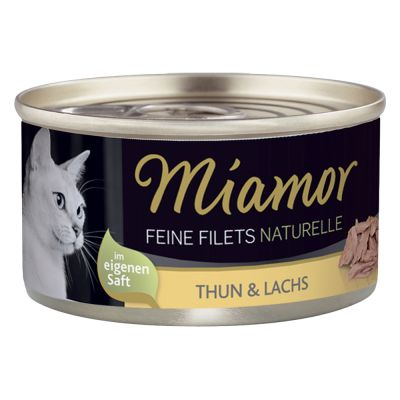 Sparpaket Miamor Feine Filets Naturelle 24 x 80 g