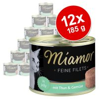 Sparpaket Miamor Feine Filets 12 x 185 g