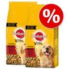Sparpaket Pedigree Trockenfutter für Hunde