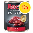 Sparpaket Rocco Real Hearts 12 x 800 g