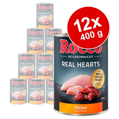 Sparpaket Rocco Real Hearts 12 x 400 g