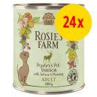 Sparpaket Rosie's Farm Adult 24 x 800 g