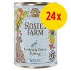 Sparpaket Rosie's Farm Senior 24 x 400 g