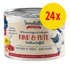 Sparpaket Sanabelle Fleisch in Soße 24 x 180 g