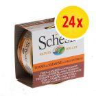 Sparpaket Schesir in natürlicher Sauce 24 x 70 g