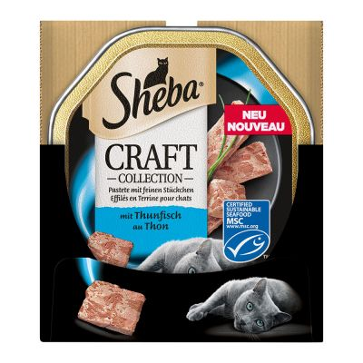Sparpaket Sheba Craft Collection Schale 44 x 85 g