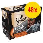 Sparpaket Sheba Craft Collection 48 x 85 g