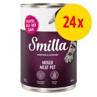 Sparpaket Smilla Multifleischtöpfchen 24 x 400 g