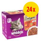 Sparpaket Whiskas 1+ Adult Pure Delight 24 x 85 g