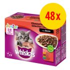 Sparpaket Whiskas Junior Frischebeutel 48 x 100 g