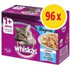Sparpaket Whiskas 1+ Ragout 96 x 85 g