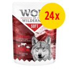 """Sparpaket Wolf of Wilderness Adult """"Soft & Strong"""" 24 x 300 g"""