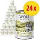 Sparpaket: Wolf of Wilderness Adult 24 x 400 g