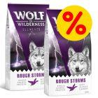 """Sparpaket Wolf of Wilderness """"Elements"""" 2 x 12 kg"""