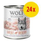 """Sparpaket Wolf of Wilderness """"Freiland Fleisch"""" 24 x 800 g"""