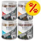 Sparpaket Wolf of Wilderness - RAW Snacks (gefriergetrocknet)