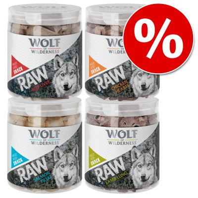 Sparpaket Wolf of Wilderness - RAW Snacks (gefriergetrocknet)