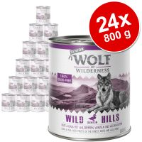 Sparpaket: Wolf of Wilderness Senior 24 x 800 g