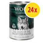 """Sparpaket Wolf of Wilderness """"The Taste Of"""" 24 x 400 g"""