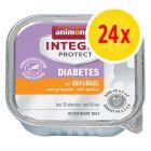 Sparpaket: 24 x 100 g Animonda Integra Protect Adult Diabetes Schale