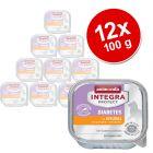 Sparpaket: 12 x 100 g Animonda Integra Protect Adult Diabetes Schale