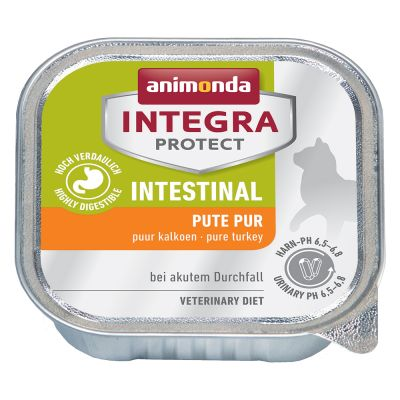 Sparpaket: 12 x 100 g Animonda Integra Protect Adult Intestinal Schale