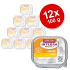 Sparpaket: 12 x 100 g Animonda Integra Protect Adult Niere Schale