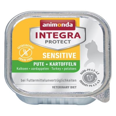 Sparpaket: 24 x 100 g Animonda Integra Protect Adult Sensitive Schale