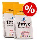 Sparpaket: 2 x 1,5 kg Thrive PremiumPlus Trockenfutter