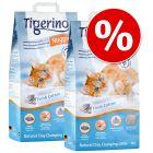 Sparpaket: 2 x 14 l Tigerino Nuggies Katzenstreu