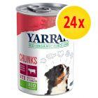 Sparpaket Yarrah Bio Nassfutter 24 x 400 / 405 g