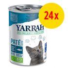 Sparpaket Yarrah Bio Pâté 24 x 400 g