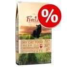 Sparpris: 6,5 kg Purizon spannmålsfritt torrfoder för katt