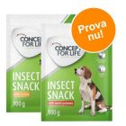 Sparpris! 2 x 100 g Concept for Life Insect Snack i blandat provpack!