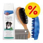 Sparset Fellpflege-Set für Hunde