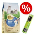 Sparset: 2 kg Vilmie Premium-Rattenfutter + Cosma snackies