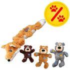 Sparset! KONG WildKnots Bears + KONG Scrunch Knots Fuchs