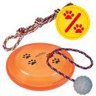 Sparset! Trixie Spieltau, Frisbee, Gummiball